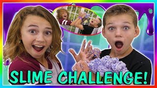 NOT JUST MY HANDS SLIME CHALLENGE | We Are The Davises