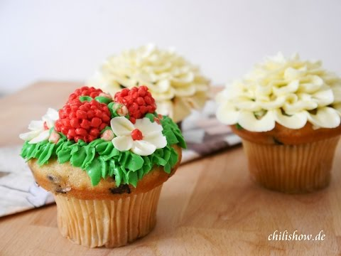 cách trang trí bánh cupcake siêu dễ thương