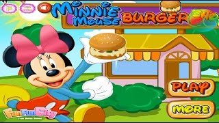 Mickey Mouse : Minnie Mouse Burger Shop - #GameCollection 5