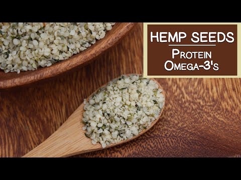 Hemp Seeds, A Source of Protein and Omega-3's