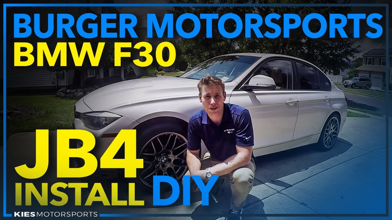 Burger Motorsports JB4 Installation 2013 328i EWG - YouTube