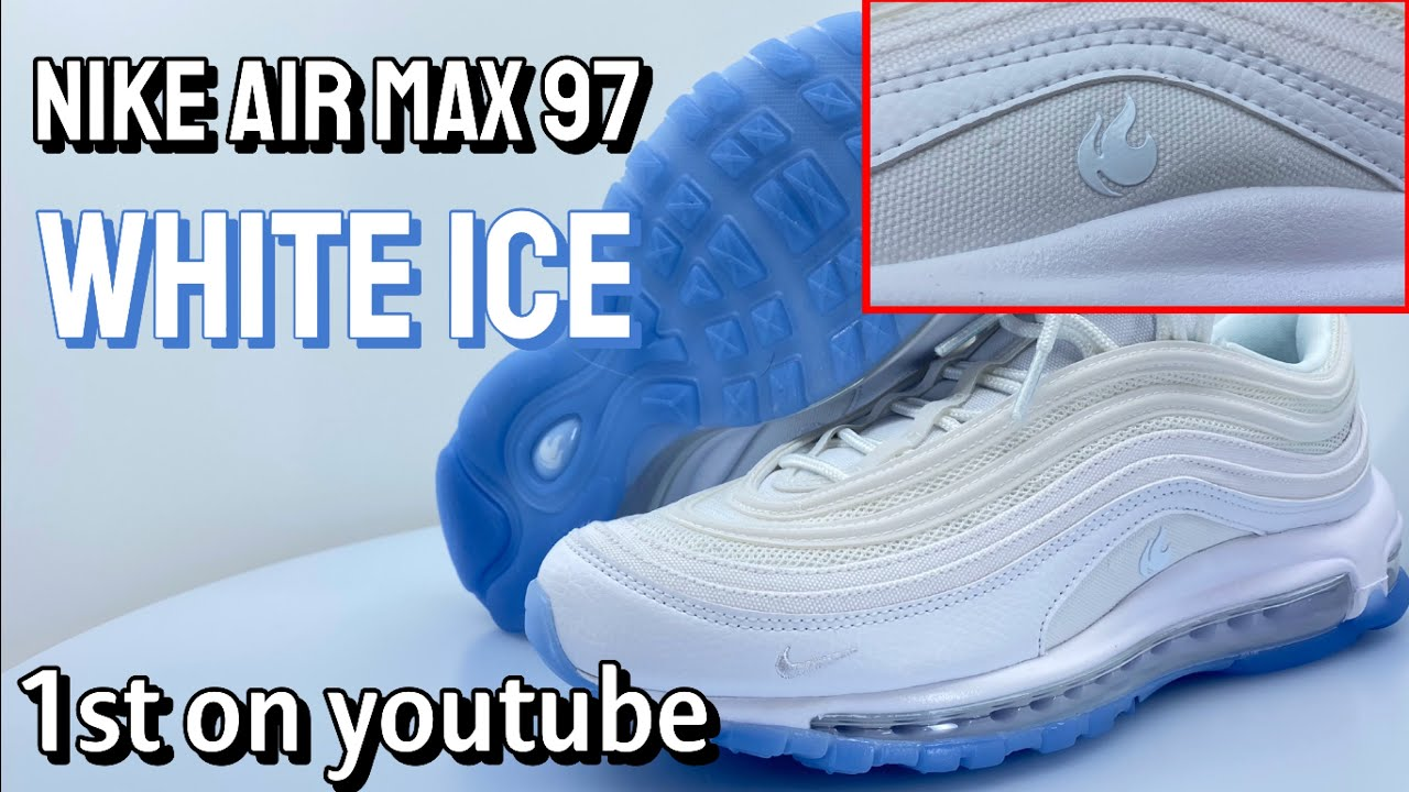 Nike Air Max 97 White Ice Onfeet Review Youtube