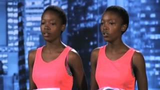Idols South Africa 2013 Neliswa and Anele at the Durban Auditions