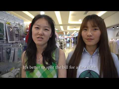 CHINESE UNIVERSITY STUDENTS: WHO PAYS ON A FIRST DATE? // EP8