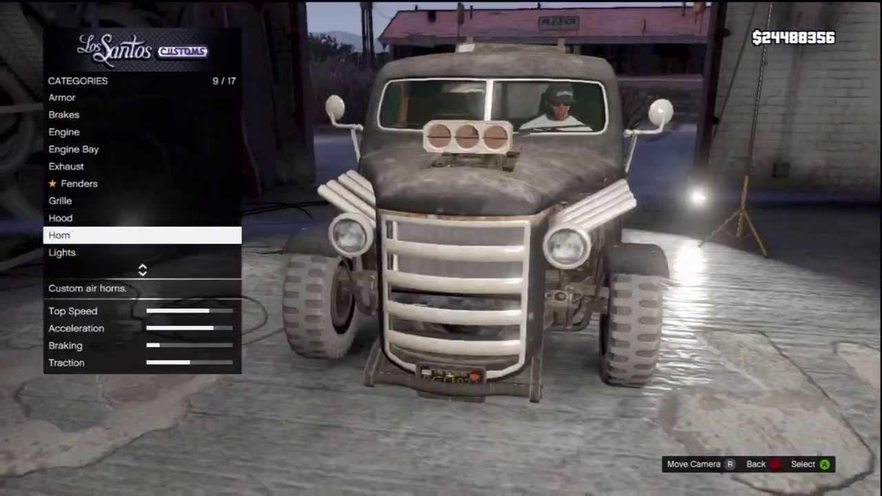 Gta V Tutorial How To Get A Rat Rod Truck Rare Vehicle