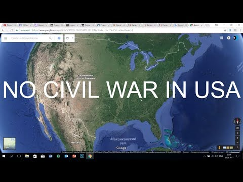 No civil war in USA. Answers on the subscribers questions 23.08.2017