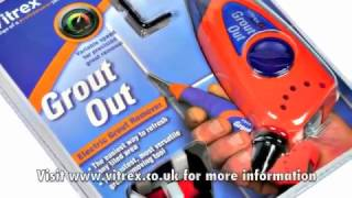 Screwfix - Vitrex Grout Out Electric Grout Remover