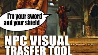 NPC Visual Transfer Tool: TURN LYDIA INTO A GOAT! - Skyrim Mods Watch