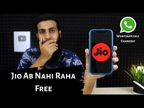 Jio Ab Nahi Raha Free | WhatsApp, FaceTime Call Charges?