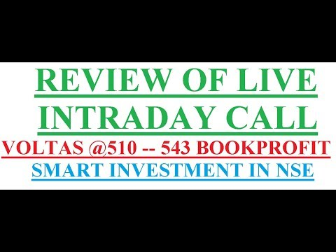 Review live intraday trading zerodha kite in hindi    Smart investment in NSE