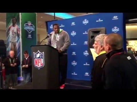 NFL Combine Update Baylor Andrew Billings Defensive Tackle #NFLCombine
