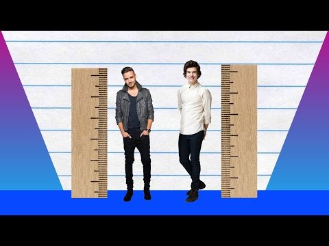 How Much Taller? - Liam Payne vs Harry Styles!
