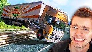 COMO NÃO JOGAR EURO TRUCK! - Euro Truck Simulator 2