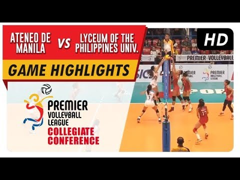 PVL Season 1 Collegiate Conference: ADMU vs LPU Game Highlights – September 16, 2017
