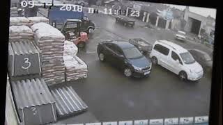 В Аткарске сбили пешехода на улице Чернышевского. Момент ДТП попал на видео