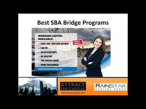 SBA Bridge Working Capital