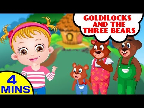 Goldilocks and the Three Bears Fairy Tale Nursery Rhyme
