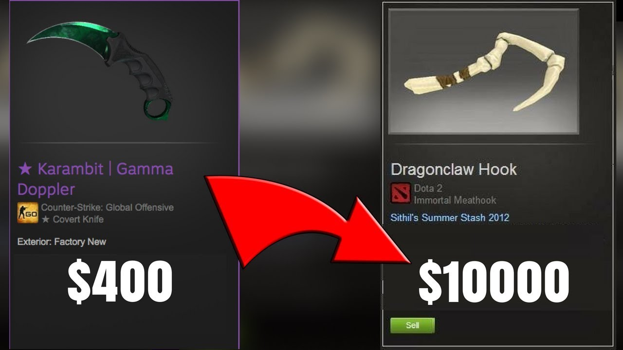 Upgrading My Karambit To the Most Expensive Dota2 Skin EVER (INSANE)
