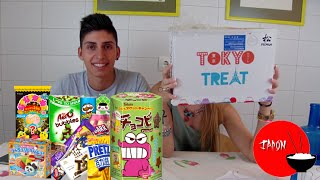 Probando Chuches Japonesas con Mi Novia | TokyoTreat