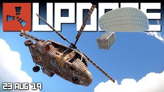 NEW SCRAP HELI IS HERE! (All you need to know) | Rust update 23rd August 2019