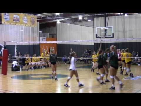 Megan Sester 2016 Central Tournament 007 Volleyball