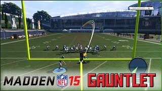 "Madden 15 - MrHurriicane vs ""The GAUNTLET"" (Eagles Gameplay)"