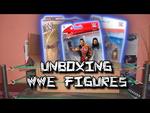 FIGURA WWE : THE BEST WWE FIGURE UNBOXING / UNBOXING FIGURAS DE WWE !!!