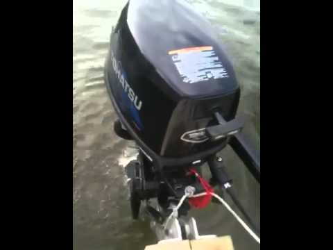 2007 tohatsu 6hp outboard motor for sale youtube for Tohatsu boat motors for sale