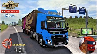 Euro Truck Simulator 2 (1.35)   Volvo FMX Euro 6 fix v1.3 1.35.x by Galimin Road to Hungary Budapest + DLC's & Mods https://forum.scssoft.com/viewtopic.php?f=35&t=270835  Support me please thanks Support me economically at the mail vanelli.isabella@gmail.