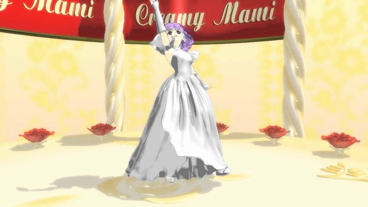 MMD「クリィミーマミ」モデル ドレスバージョン 動作テスト
