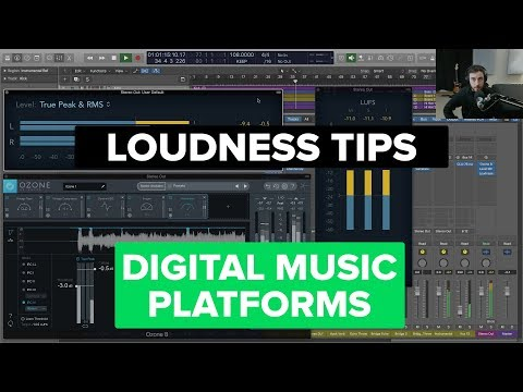 Levels and Loudness for Digital Music Platforms