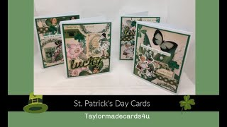 St. Patrick's Day Layered Cards