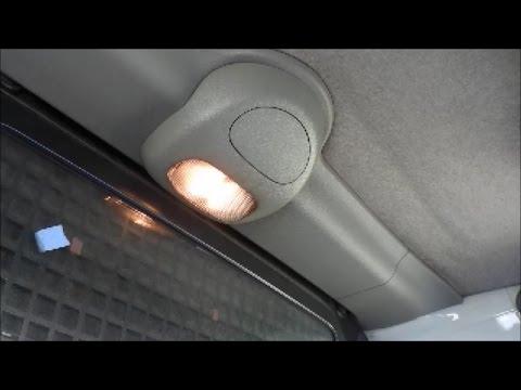 Arreglar luz interior del coche que no enciende