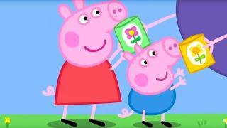 Свинка Пеппа на русском все серии подряд | Пеппа играет в Собачку | Мультики