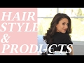 My Everyday Hair Style Tutorial How to Curl Hair with a Straightener