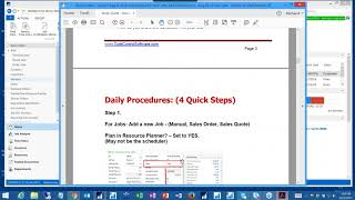 Delmia Ortems PlannerOne Resource Planner Demo by Cost Control Software