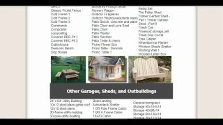 Ryanshedplans - 12,000 Shed Plans And Woodworking Designs