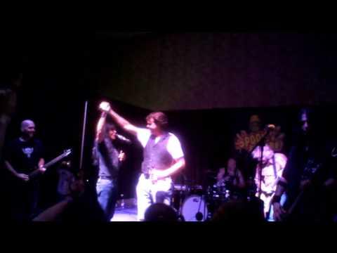 Jason Lively at Spooky Empire 2009  Joey Belladonna concert