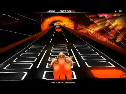 Audiosurf: Poets of the Fall - The Distance