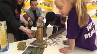 Big Ben Clock 3D Puzzle Toy Fair 2017 Demo