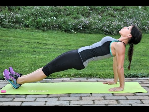 4-Minute Plank Challenge for a Stronger Core: No Equipment Workout