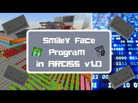 [ARCISS Computer Science] How To Write A Smiley Face Program In ARCISS V1.0