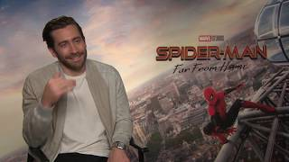 SPIDER-MAN FAR FROM HOME Jake Gyllenhaal Interview
