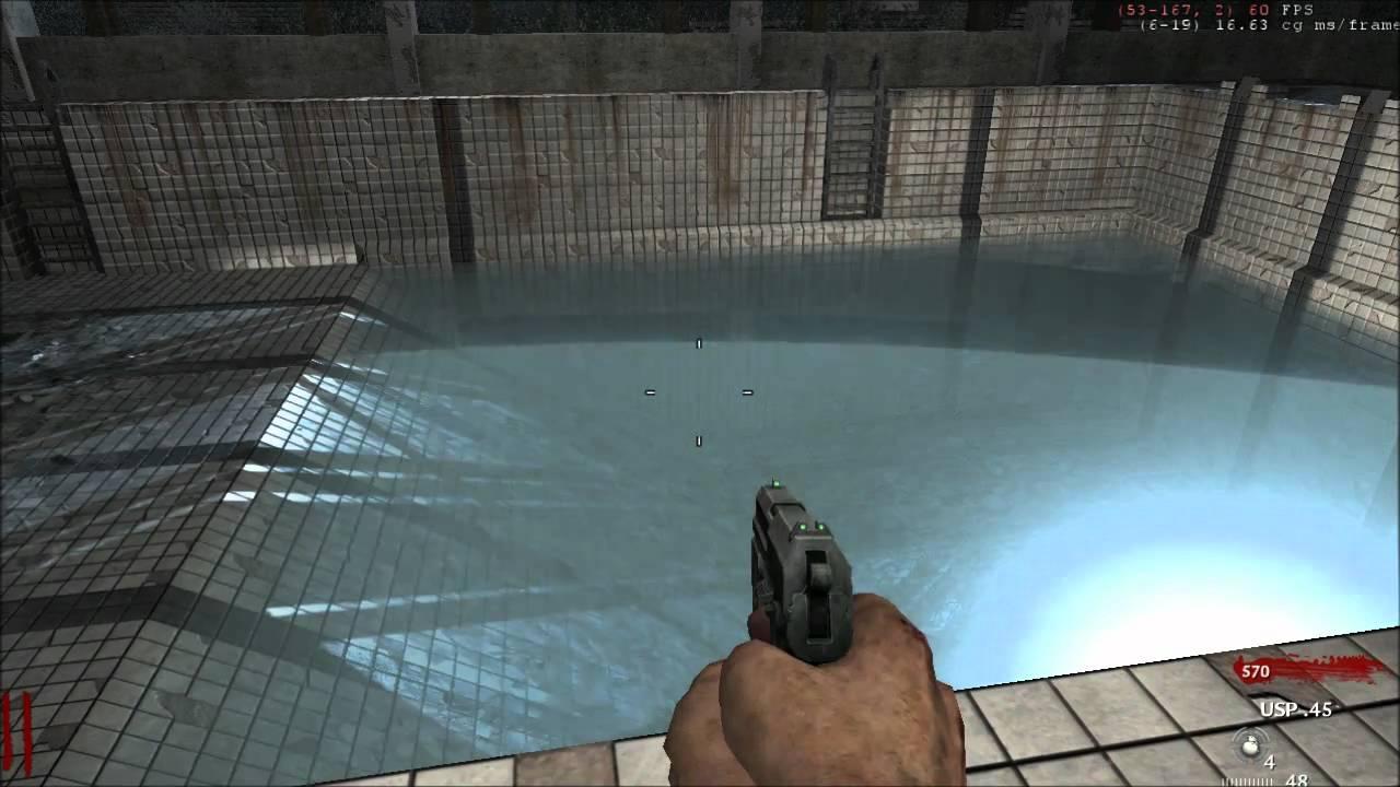Zombie Chernobyl Pool Objective Test Youtube