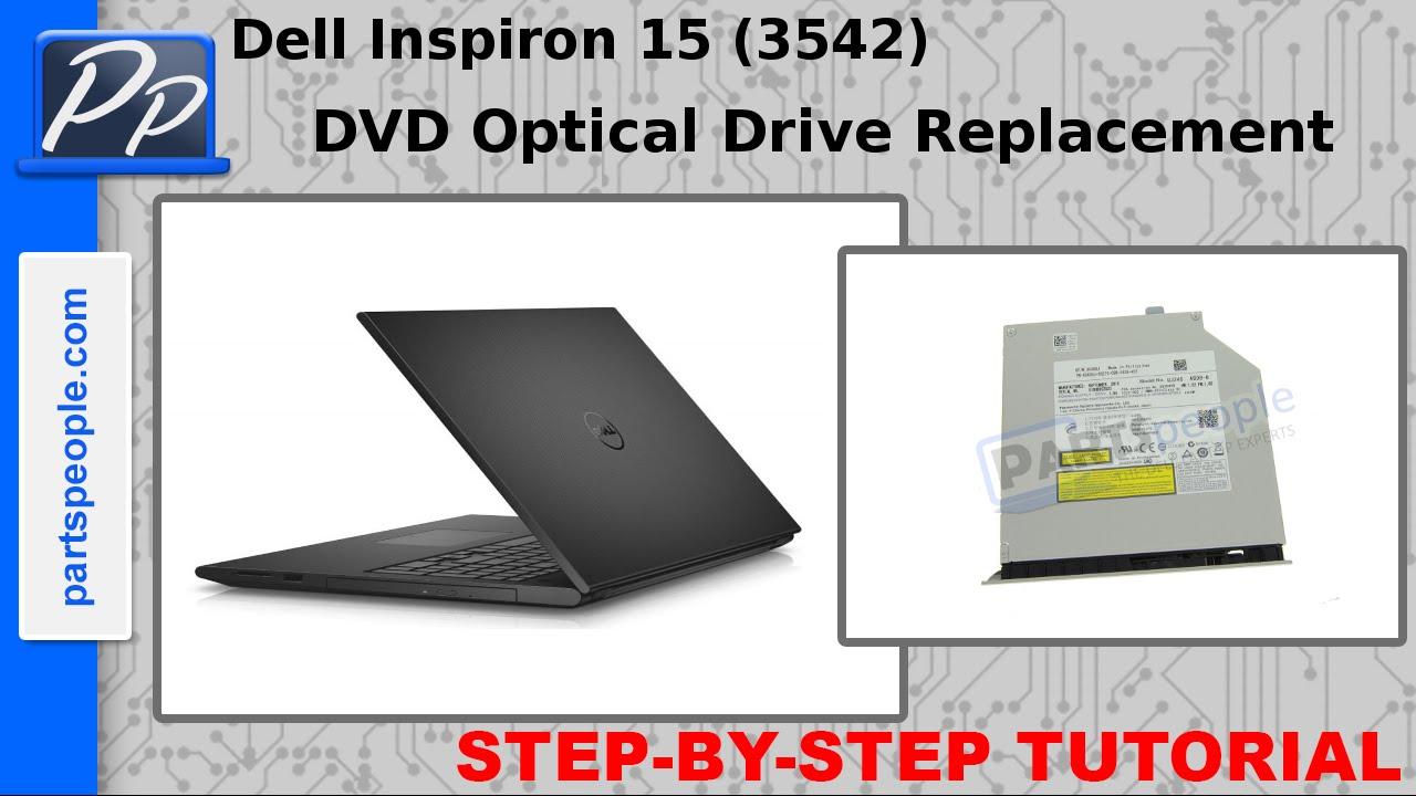 Dell Inspiron 15 (3542 / 3543) DVD Optical Drive Video Tutorial Teardown
