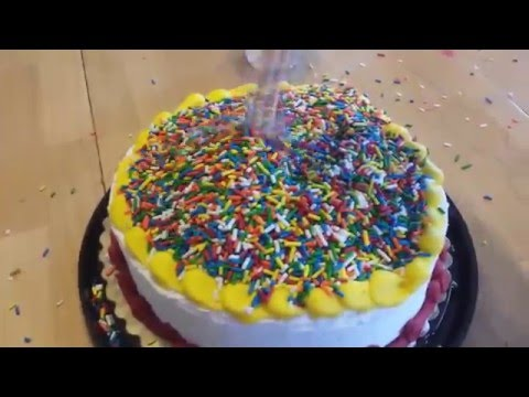 100,000 Sprinkles on a Cake (not really)...