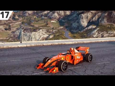 Just Cause 3 - Formel 1-Bil!