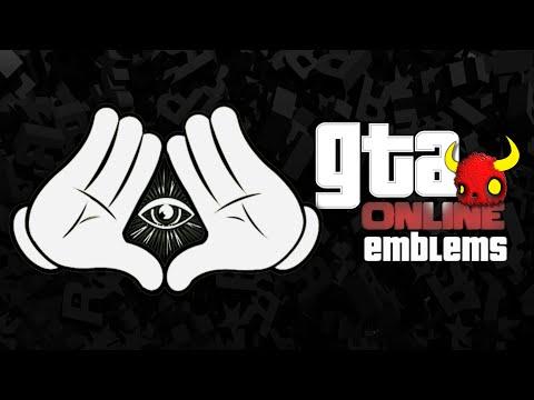 GTA V - Mickey Gloves ILLUMINATI Custom Crew Emblem Tutorial ( Grand Theft Auto 5 ) Screetch2009