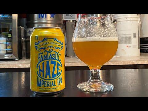 Sierra Nevada Brewing - Fantastic Haze Imperial IPA (REVIEW)