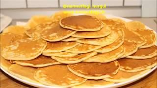 Pankek, Pancake, Akitma, Kasik Dökmesi nasil yapilir tarifi, Kolay yumusacik tarif, Nurmutfagi